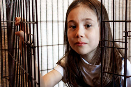 The child comes out of the iron cage. The acquisition of freedom, liberation