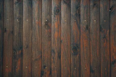 old weathered distressed dark brown wooden boarding wood texture background, dark brown plank fence background, painted dark brown wood background, wallpaper, rustic