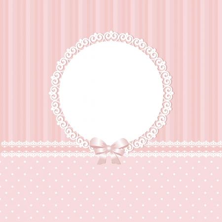 Baby pink vector background Illustration