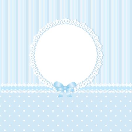 Baby blue vector background Vector