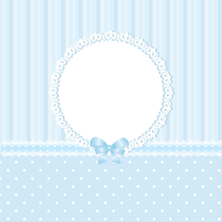 Baby blue vector background Vector