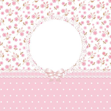 Roze bloemen romantische achtergrond