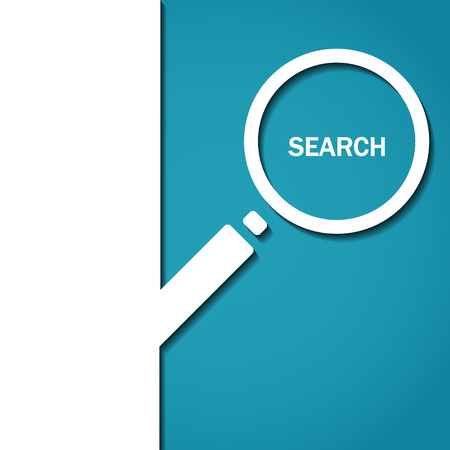 search icon: Vector Illustration of Search Icon for Design, Website, Background, Banner. Logo of  magnifying glass Element Template