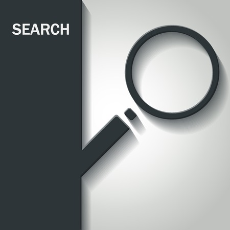 search icon: Illustration of Search Icon for Design