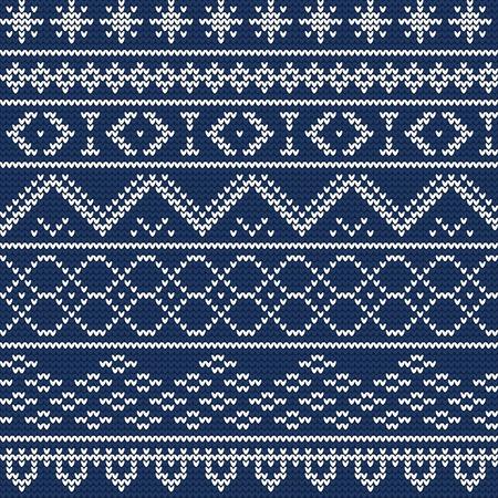 sueter: Ilustración de Ugly suéter inconsútil del modelo por un Diseño Vectores