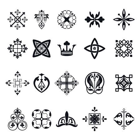 Vector illustratie van Marokkaanse tegels aanmelden voor Design, Website, achtergrond, Banner. Spaanse element voor behang, keramische of textiel. Template Middeleeuwen Ornament Textuur Stockfoto - 54828965