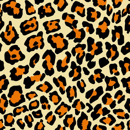 natura: Vector Illustration of Leopard Print Seamless Pattern. Wild texture for Design, Website, Background, Banner. Jaguar Template. Natura Wallpaper