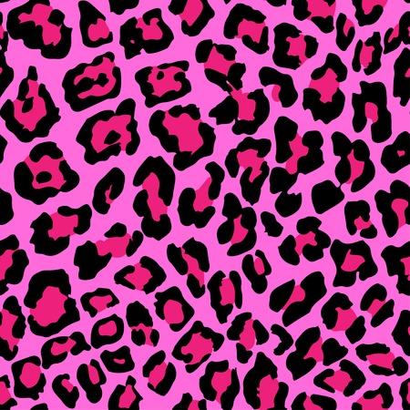 Vector illustratie van luipaard print naadloos patroon. Wild textuur voor ontwerp, website, achtergrond, Banner. Jaguar Template. Natura Wallpaper Stock Illustratie