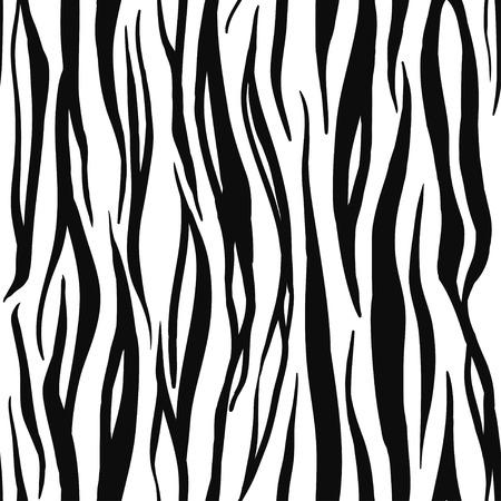 tiger print: Vector Illustration of Tiger Print Seamless Pattern. Wild texture for Design, Website, Background, Banner. Zebra Template. Nature Wallpaper