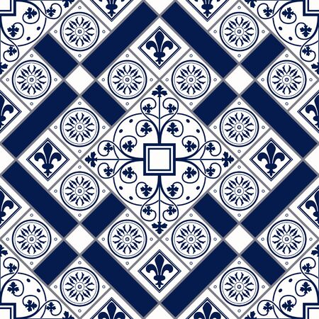 Vector Illustration Of Moroccan Tiles Seamless Pattern For Design ...
