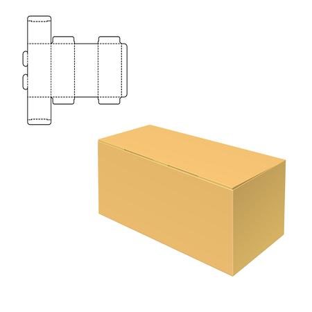 diecut: Mock up Clear Box