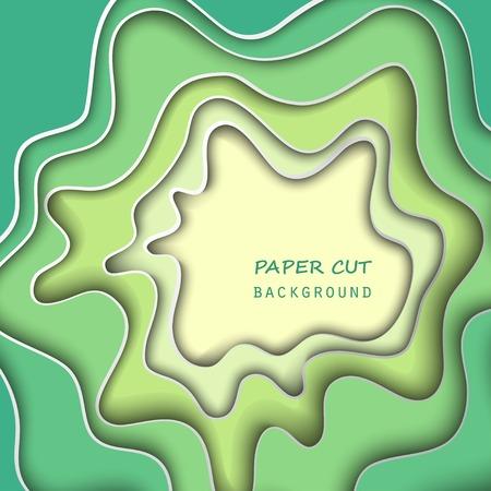 cut paper: Paper cut background