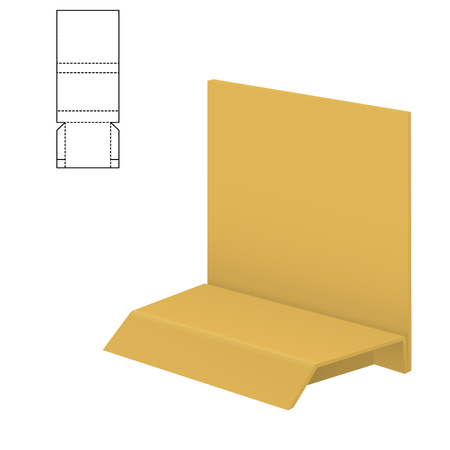 Folding package Template.