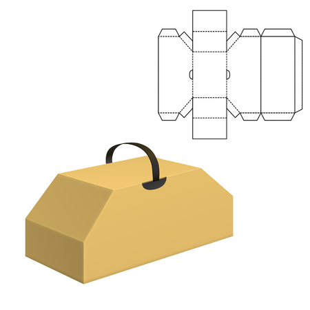 Folding package Template