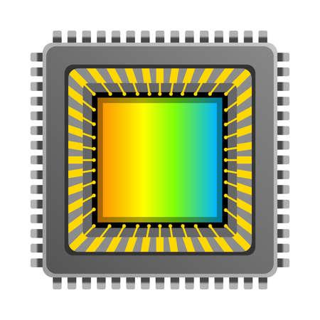 Capteur d'image CCD CMOS Vector. Vecteurs