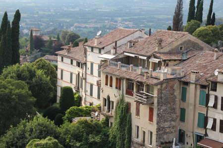 italian buildin in the village