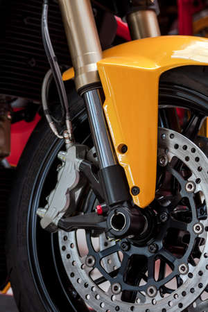 motorcycle wheel close up photo photo