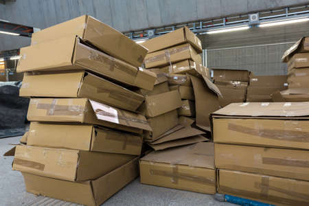 lots of cardboard boxes photo