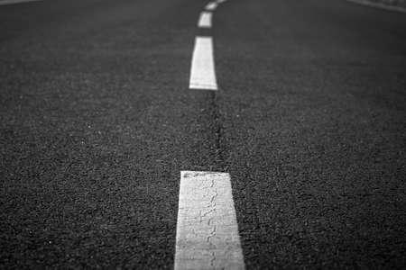 tar paper: Asphalt of a road