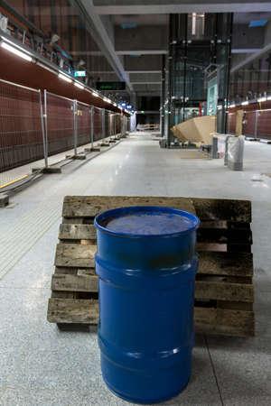 Underground under construction photo