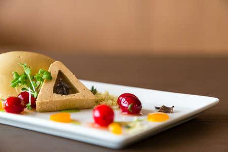Delicious gourmet food Stock Photo