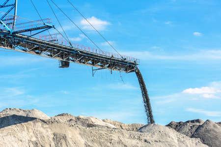 machinery: Mining machinery in the mine