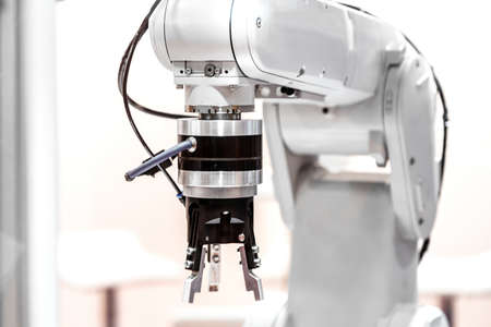 factory automation: Industrial robot arm