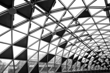 Modern conceptual high tech building