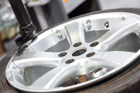 휠 밸런싱 가까이