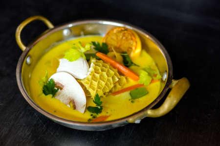 trippa: Delicious gourmet food Stock Photo