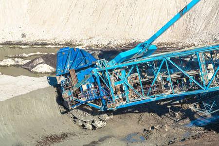 mining machinery: Mining machinery in the mine