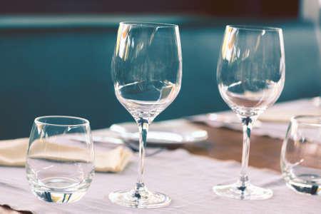 dinning room: Elegant table set up for dinning room