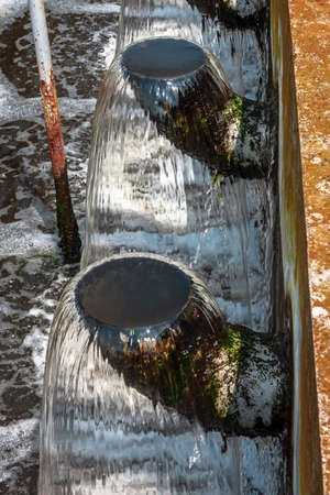the facility: Water cleaning facility outdoors photo Stock Photo