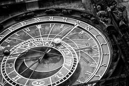 Prague Astronomical Clock in the Old Town 版權商用圖片 - 80005909