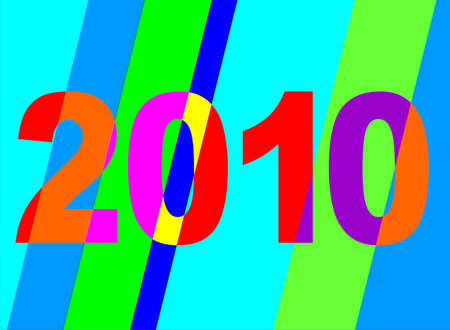 newyear: Brillante vectoriales aprovechando 2010