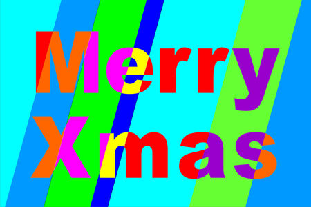 inverse: A bright, cheerful, striped, merry Xmas to you