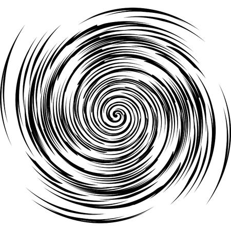 image of black and white spiral Illustration