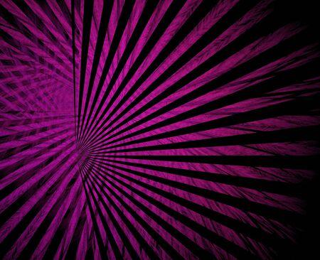 Bright magenta on black beaming fractal image