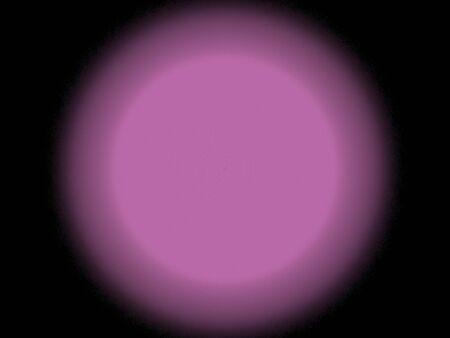 Aura in pink and violet, fractal image on black