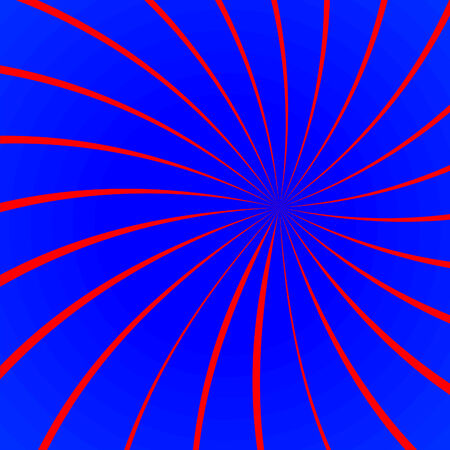 Red and blue abstract background, vector image Vector