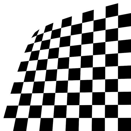 tilting: Black and white tile, tilting, image