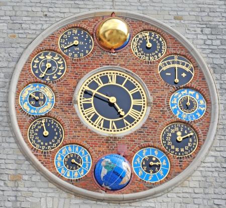 World famous Zimmer tower; Lier; Belgium; Europe; unesco world heritage site