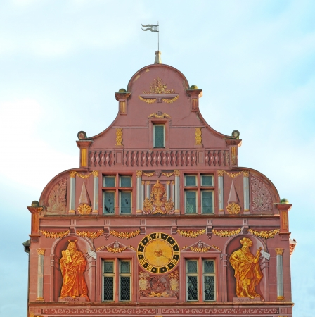 Renaissance city hall in Mulhouse, Alsace, France, Europe