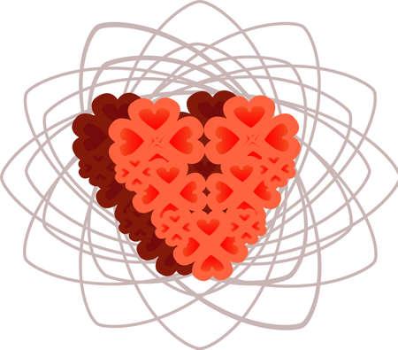 hearts Stock Vector - 12482567