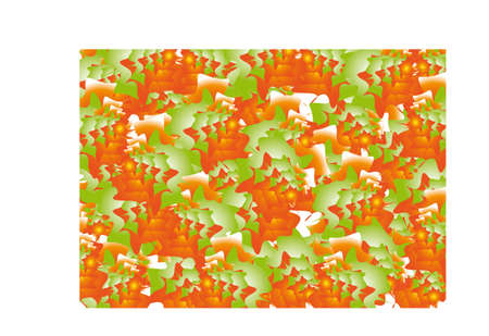carpet from autumn leaves Stock Vector - 14745029