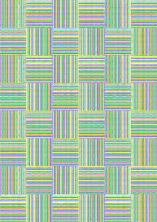 cage of colored stripes for the background Illustration