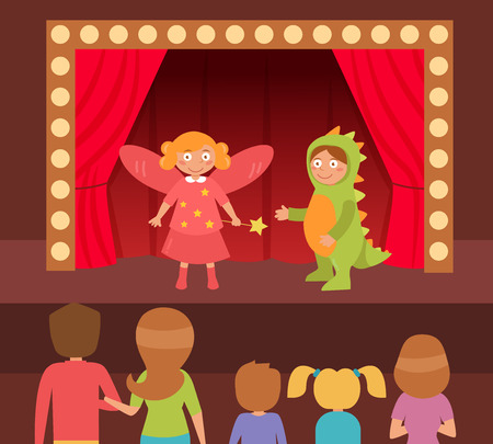 theatrical performance: Childrens theatrical performance.