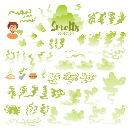 bad breath: Set with bad smells