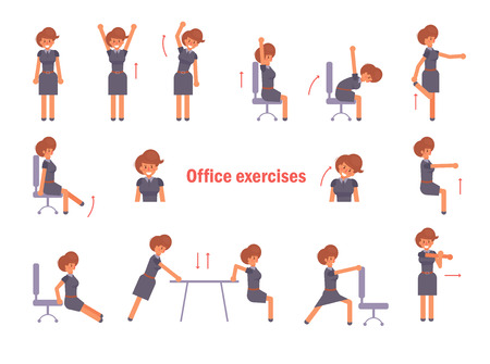 Exercises for the office. Vector