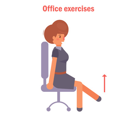 Exercises for office vector.